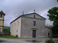 La facciata del Santuario di Santa Felicita